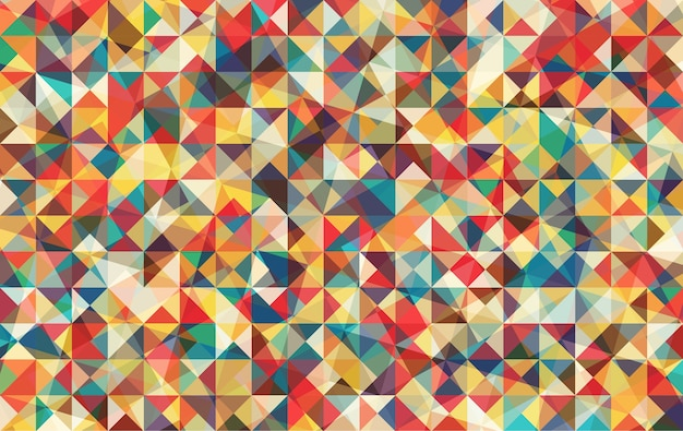 Multicolor driehoek achtergrond.