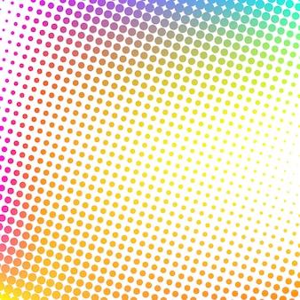 Multicolor moderne halftone ontwerp achtergrond