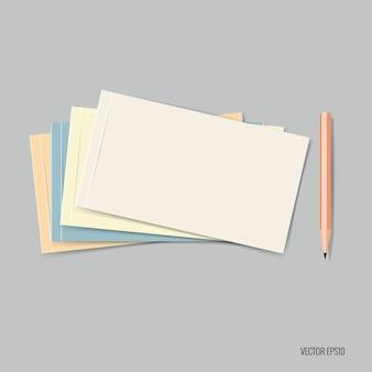 Multicolor noten collectie