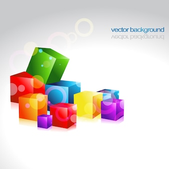 Multicolor vector ontwerp kunstwerk achtergrond
