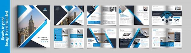 Multifunctioneel tweevoudig brochureontwerp