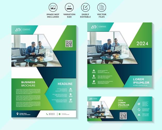 Multifunctionele zakelijke banner set
