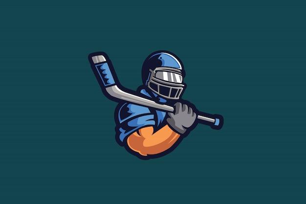 Muscle athlete e sports-logo