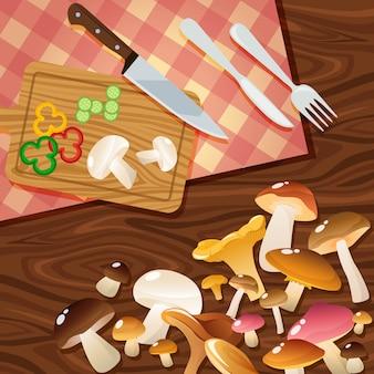 Mushroom to slices samenstelling