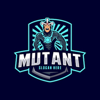 Mutant mascotte logo