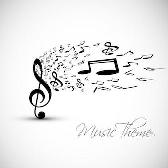 Muziek achtergrond
