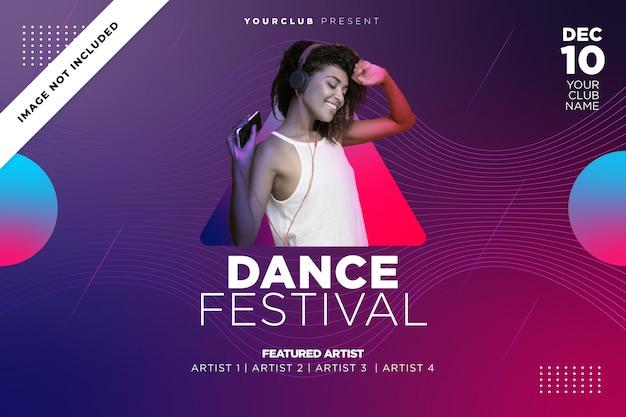 Muziek dansfestival