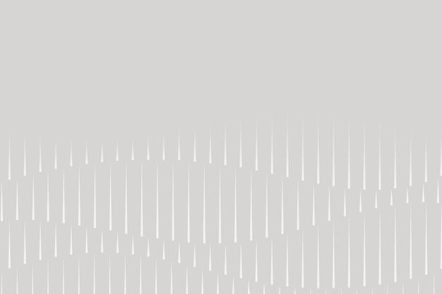 Muziek equalizer technologie grijze achtergrond vector met witte digitale geluidsgolf