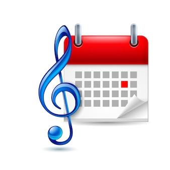 Muziek evenement pictogram