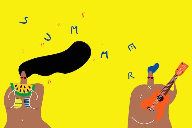 Muziek in de zomer