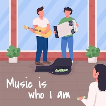 Muziek is wie ik ben.