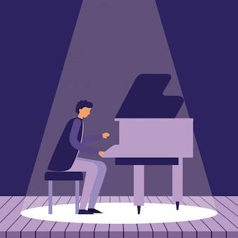 Muziek mensen instrumenten