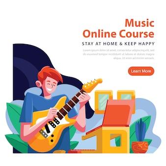 Muziek online cursus van thuis uit