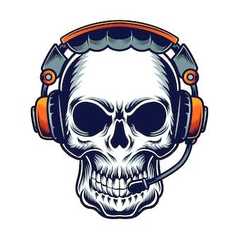 Muziek schedel