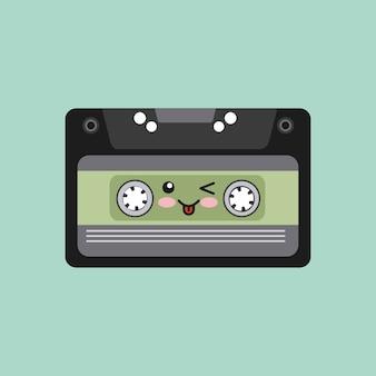 Muziek vintage pictogram ontwerp