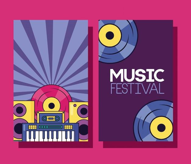 Muziekfestival banner