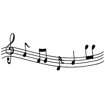 Muzieknoot set