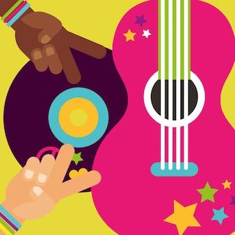 Muzikale gitaar