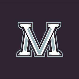 Mv text logo esports