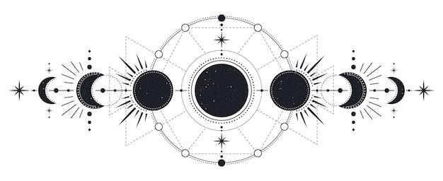 Mysterieuze fasen van maanlichtactiviteit