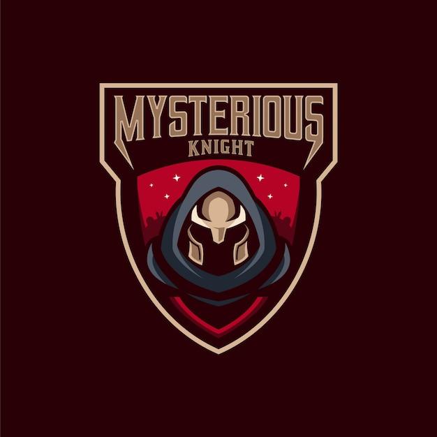 Mysterious ridder logo
