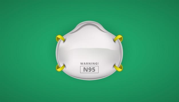 N95 gezichtsbescherming veiligheid voor coronaviruses
