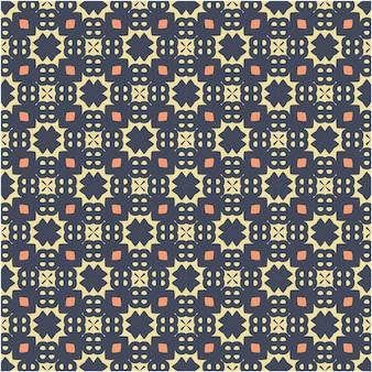 Naadloos abstract patroon in azteekse stijl. figuur tribal borduurwerk. indiaas, scandinavisch, zigeuner, mexicaans, volkspatroon