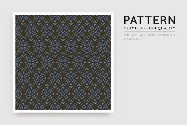 Naadloos arabisch stijl abstract patroon