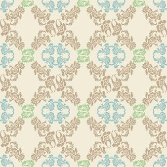 . naadloos bloemenpatroon, achtergrond