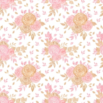 Naadloos bloemenpatroon met mooie bloemen