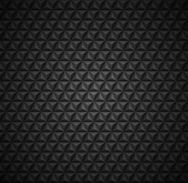 Naadloos donker patroon als achtergrond in driehoeksvormen