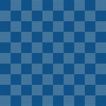 Naadloos gebreid geometrisch patroon, vectorillustratie