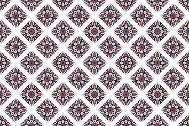 Naadloos geometrisch kleurrijk achtergrondpatroon