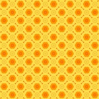 Naadloos geometrisch patroon gemaakt met zwart-wit elementen