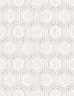 Naadloos geometrisch patroon op basis van japanse ornament kumiko.