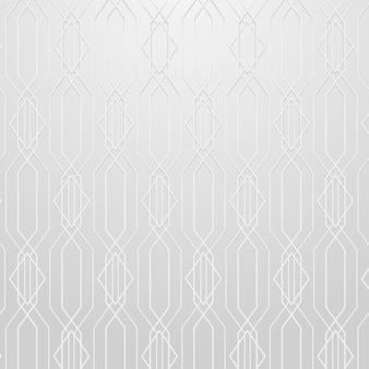 Naadloos geometrisch patroon op een grijze achtergrondvector