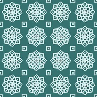 Naadloos geometrisch patroon van abstracte eenvoudige vormen en lijnen