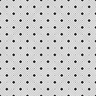 Naadloos geometrisch patroon. zwart-witte achtergrond. ontwerp voor achtergrond