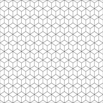 Naadloos geometrisch patroon. zwarte en witte achtergrond.