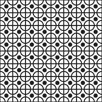 Naadloos geometrisch patroon.