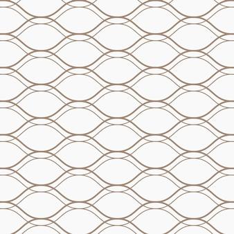 Naadloos golvend geometrisch patroon