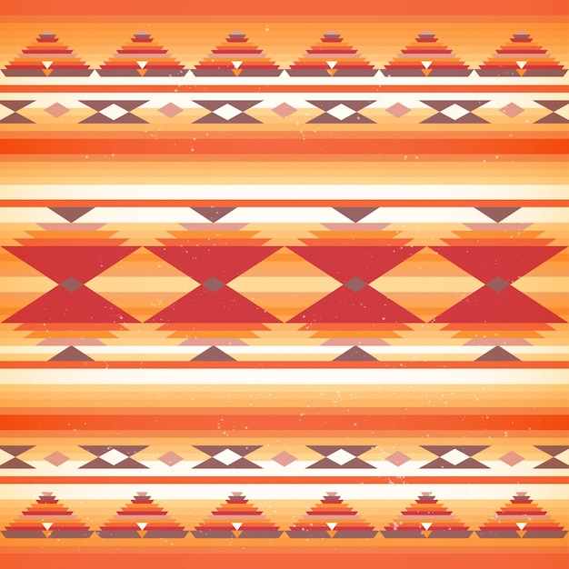 Naadloos inheems amerikaans patroon.