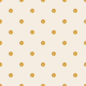 Naadloos kleurrijk patroon met fonkelingspolka dot