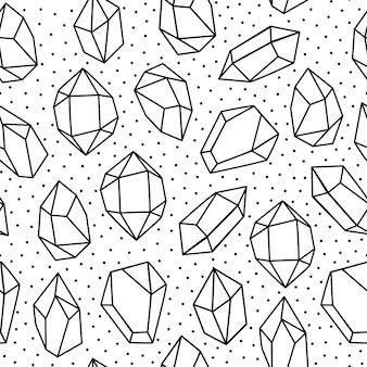 Naadloos kristalpatroon