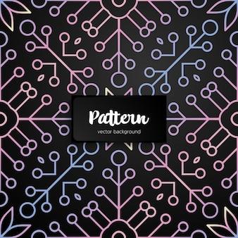 Naadloos patroon als achtergrond