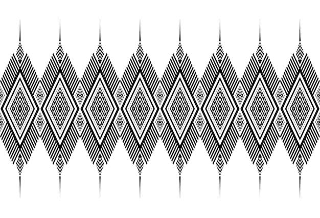 Naadloos patroon herhalend ontwerp met geometrische vormen