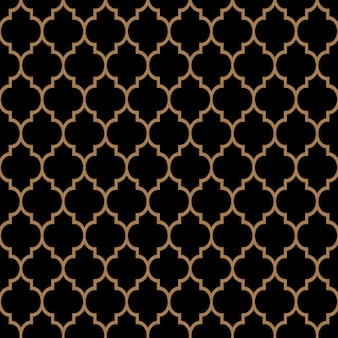 Naadloos patroon in islamitische traditionele stijl