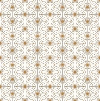 Naadloos patroon in japanse stijlkumiko