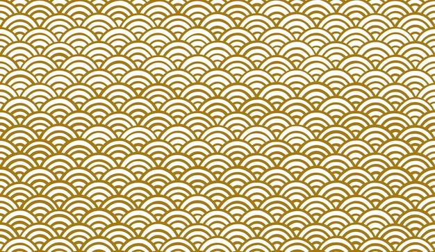 Naadloos patroon in oosterse stijl.