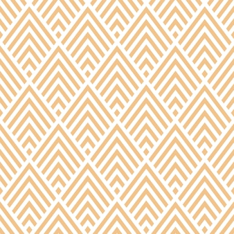 Naadloos patroon met beige geometrisch ontwerp